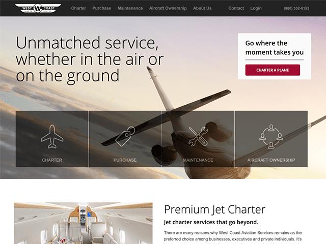 west coast aviation services